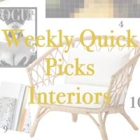 Weekly Quick Picks - Interior